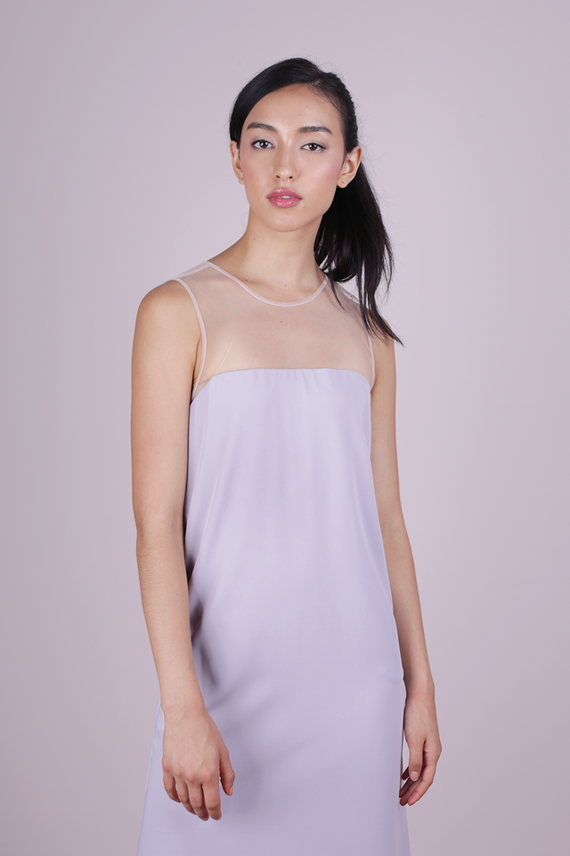 Cel Mesh Dress (Grey)