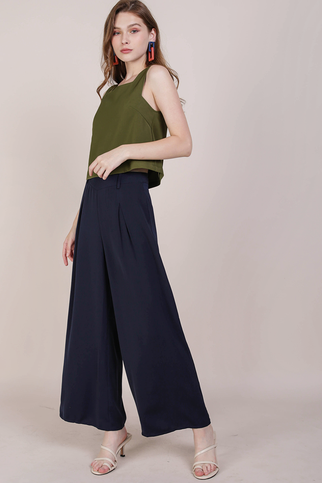 Bondi Flowy Pants (Navy)