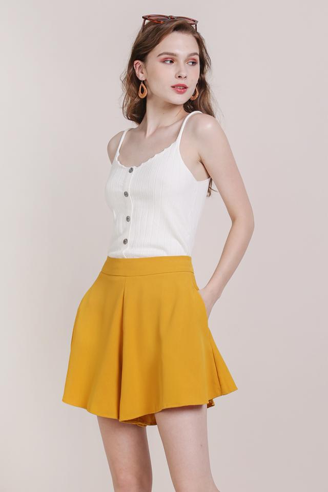Pearlyn Flare Shorts (Honey)