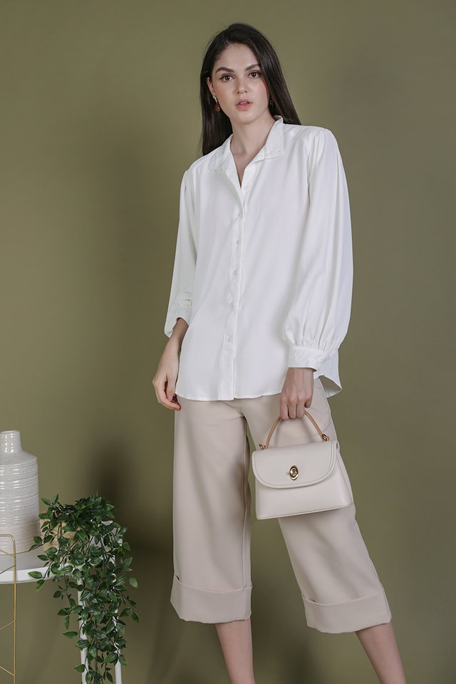 Colby Blouse (White)