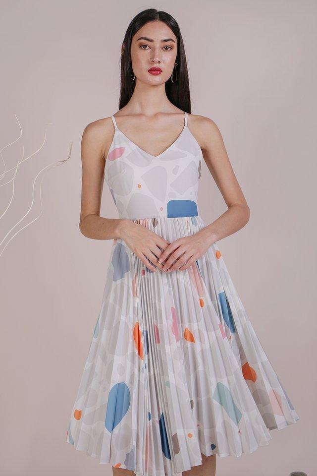 Kiki Pleated Dress (Rock Candy)