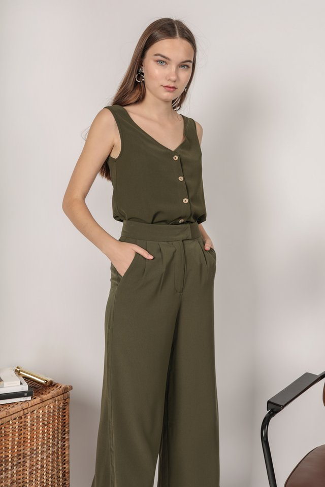 Cyrus Two Way Top (Olive)