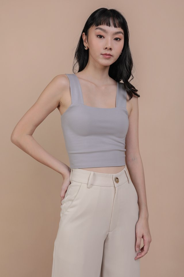 Luna Basic Top (Grey)