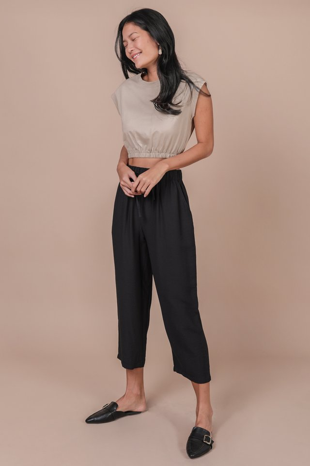 Leyla Cropped Top (Clay)
