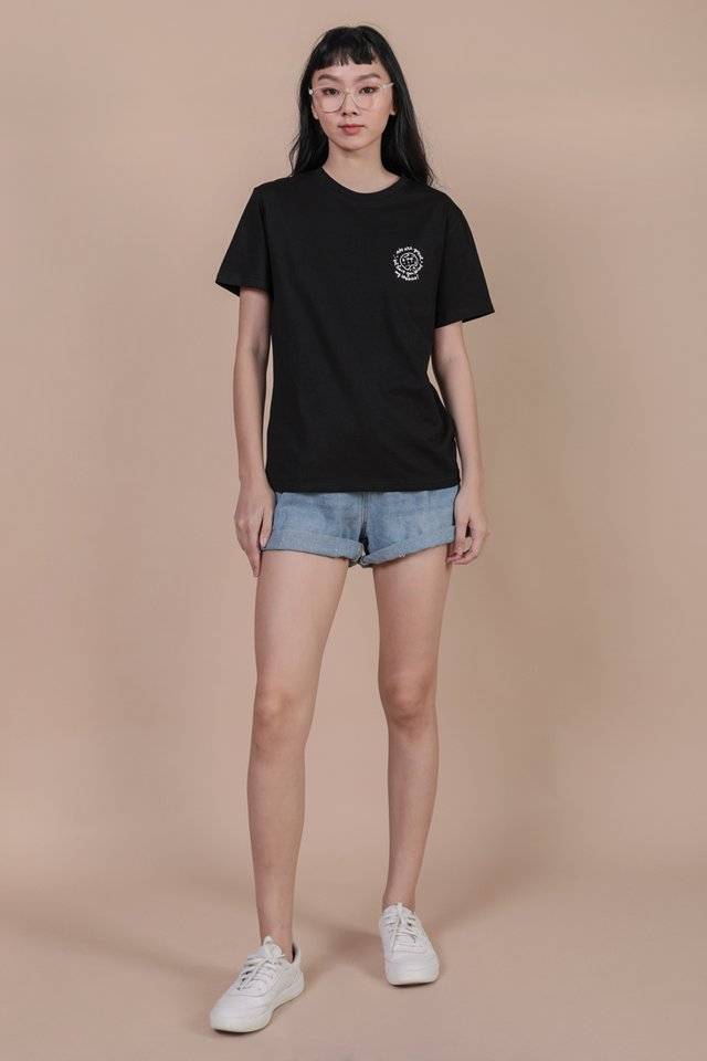 Better Than Abs Cookie Recipe Tee (Black)