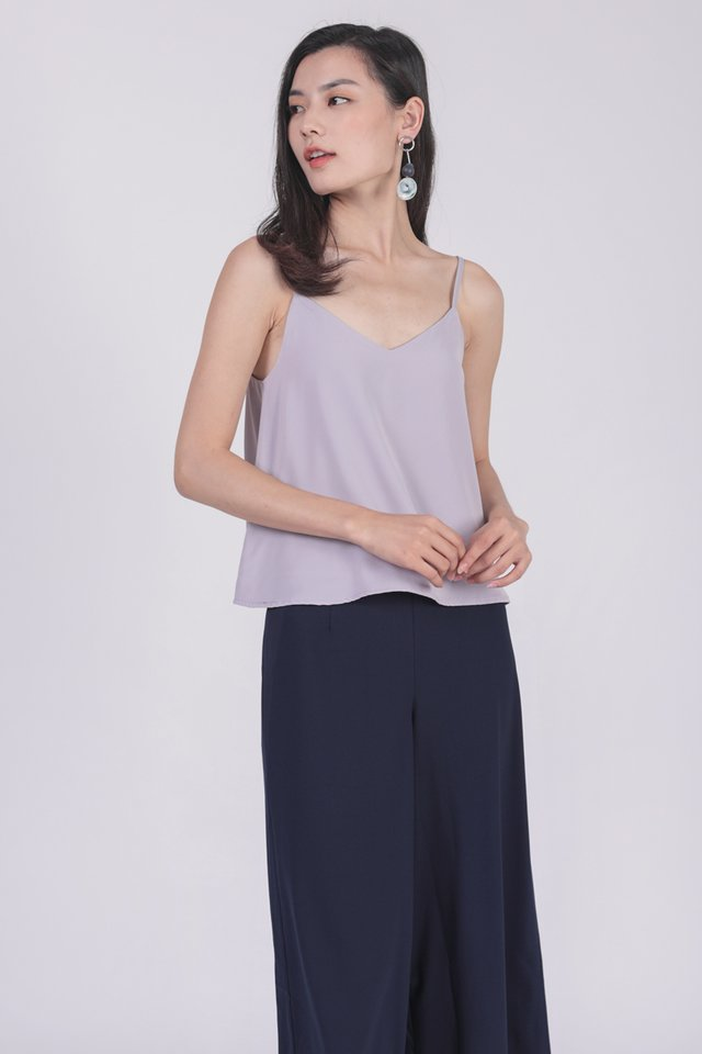 Sherry Spag Top (Lilac)