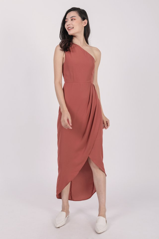 Ser Toga Dress (Redwood)