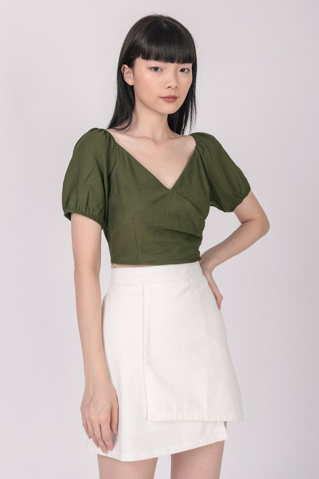 Ace Two Way Top (Olive)