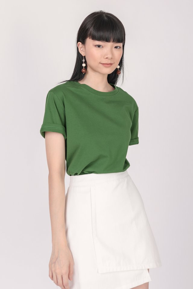 Ron Basic Tee (Pine Green)