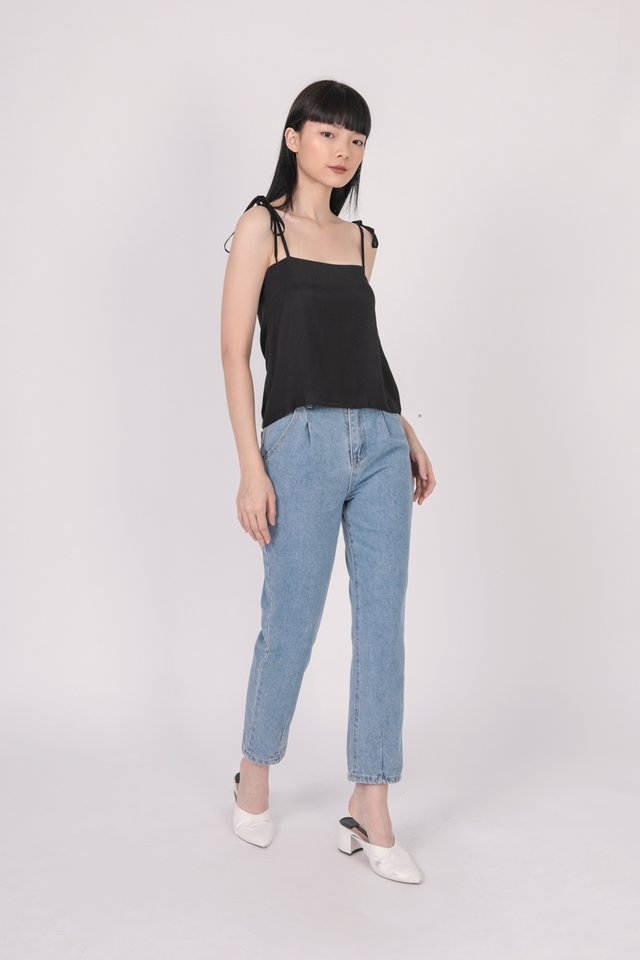 Jodie Spag Top (Black)