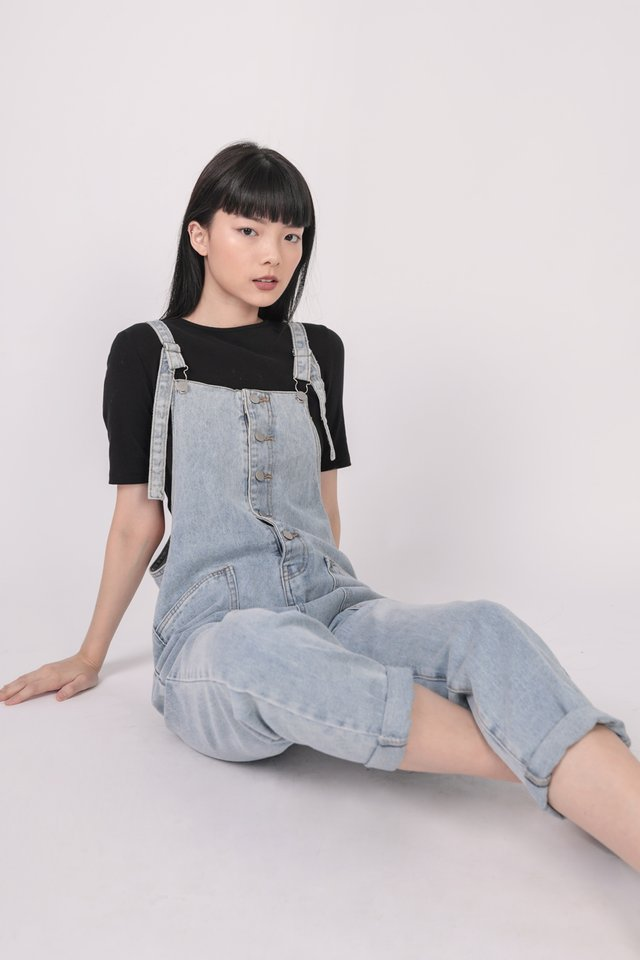Joni Dungaree (Denim Wash)