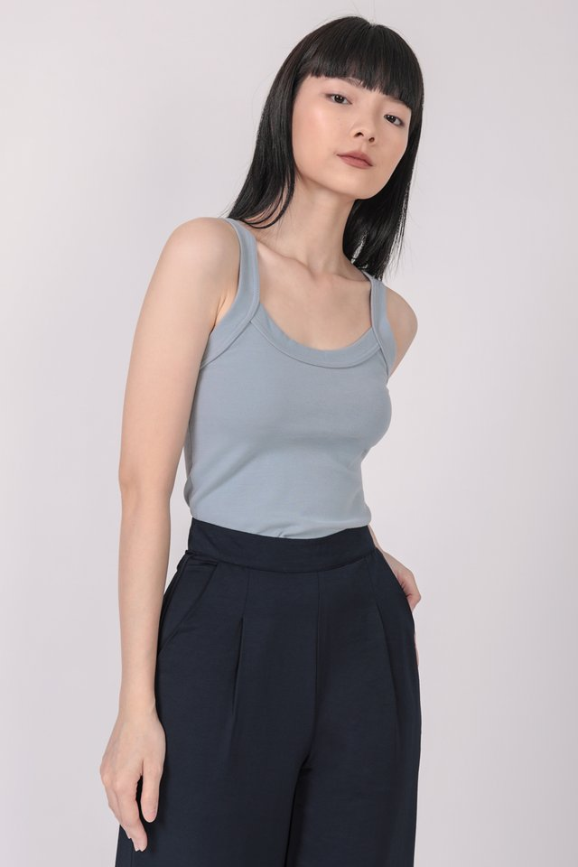 Kym Basic Top (Blue)