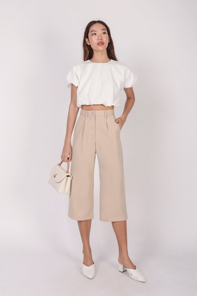Clan Straight Leg Culottes (Nude) - Preview