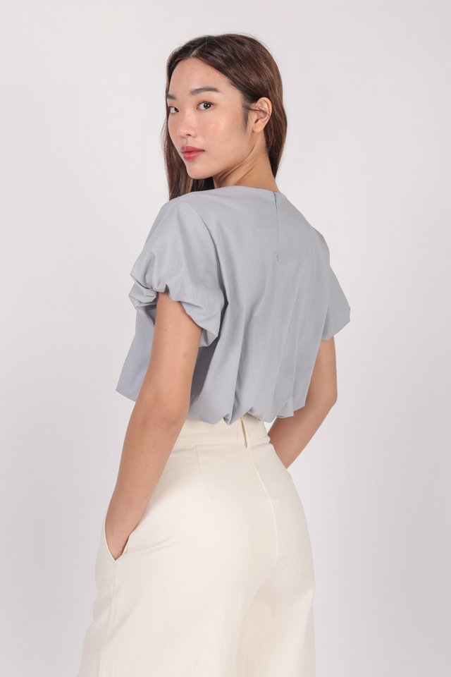 Claude Top (Muted Blue) - Preview