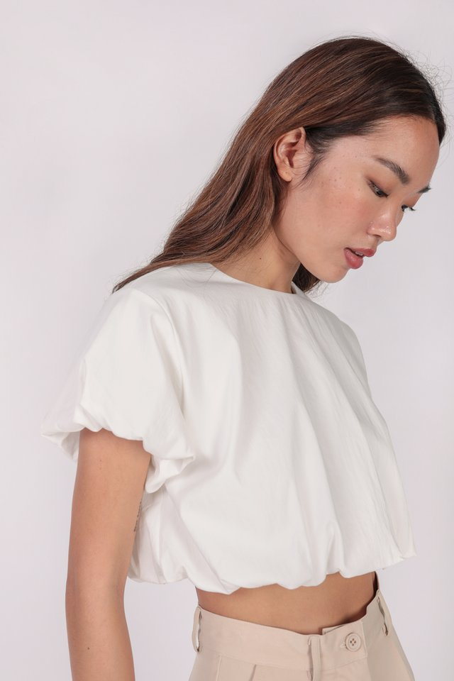 Claude Top (White) - Preview